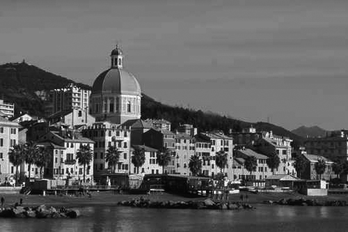 Genova Pegli, waterfront